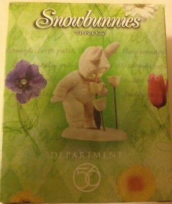 """Snowbunnies """"I Pick You"""" #56.26355 by Department 56"""