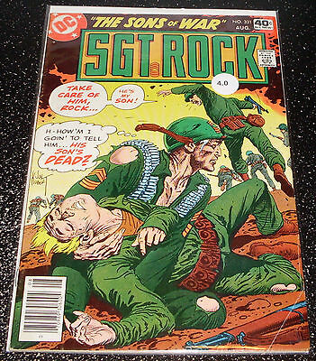 Sgt.Rock 331 (4.0) DC Comics