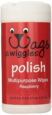 Wags & Wiggles Raspberry Pet Wipes