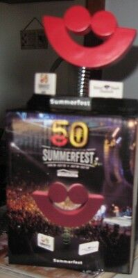 "2017 Summerfest ""SMILE"" 50th Anniversary Bobblehead GIVEAWAY Promotion Milwaukee"