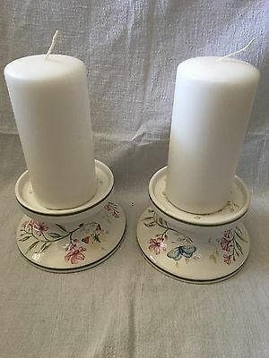 Lenox Butterfly Meadow Candle Holders