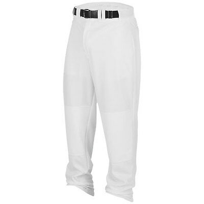 Baseball Pants -Rawlings Relaxed Fit -YOUTH-Open Bottom Legs-White/Grey/BLack
