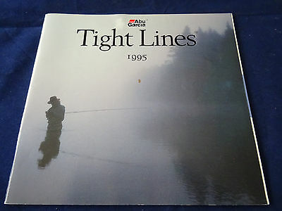 Vintage Abu Tight Lines Fishing Catalogue For 1995
