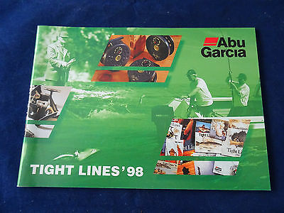 Vintage Abu Tight Lines Fishing Catalogue For 1998