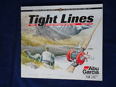Vintage Abu Tight Lines Fishing Catalogue For 2002