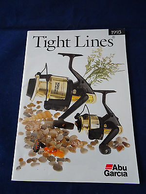 Vintage Abu Tight Lines Fishing Catalogue For 1993