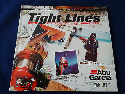 Vintage Abu Tight Lines Fishing Catalogue For 2001