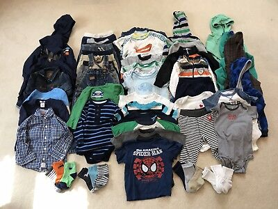 Baby Clothes 12-18 months mo (Boy) LOT (fall/winter/spring) - good condition!