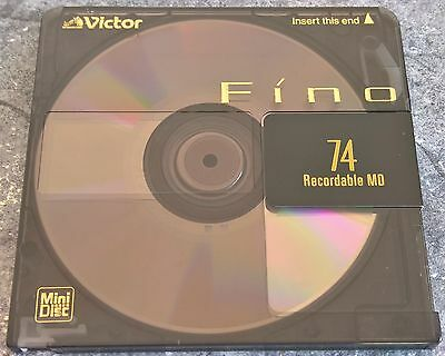 One (x1) Victor 'Fino' collectable 74 minute MiniDisc        Free AusPost