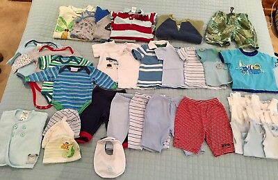 Baby Boy 000 Bulk Lot - 35 Items (Patch, Gap, Sprout, Target, Etc.)