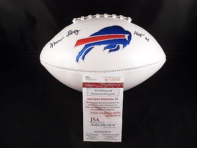 Marv Levy Signed Autographed Football Buffalo Bills (Jsa Certified)