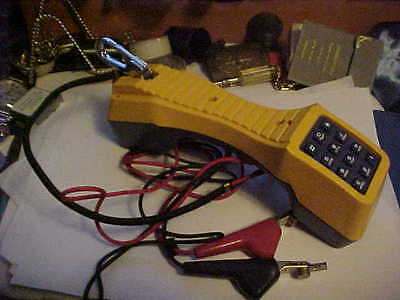 Fluke Networks TS19 Phone Telephone Butt Tester ~ Lineman Test