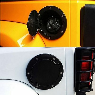 NEW Fuel Filler Door Cap Gas Tank Cover For 07-2015 Jeep Wrangler JK Car Parts