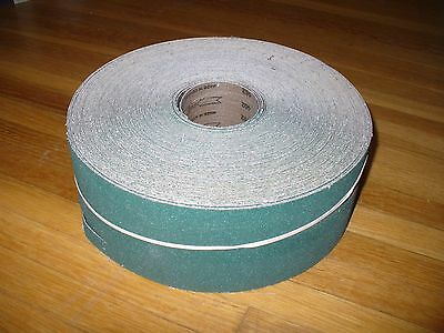 "VSM Cloth Sanding Roll. 3 3/4"" x 50 yd. ""X"" weight 60 Grit"