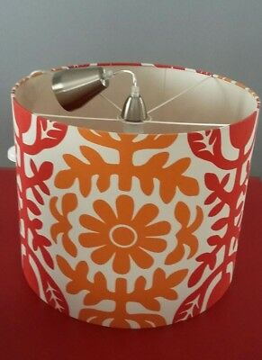 Seven Dandelions Design Drum Stlye Lamp shade incl. Batten light fixture attachm