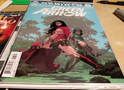 Green Arrow #27 Variant Cover Esad Ribic Wonder Woman Rebirth New 1 July 2017