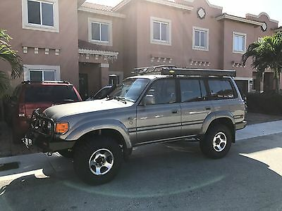1997 Toyota Land Cruiser 40th ANNIVERSARY EDITION 1997 TOYOTA LAND CRUISER 80 SERIES 40TH ANNIVERSARY EDITION