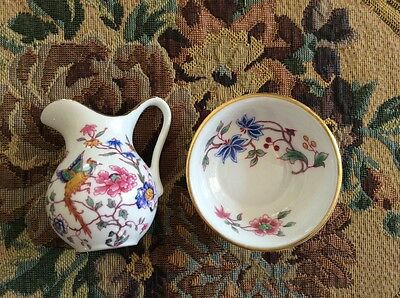 Hammersley jug and bowl miniature perfect