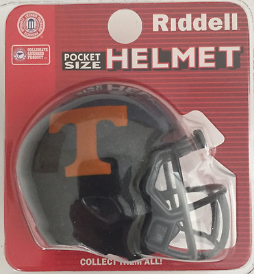 31171775b0c TENNESSEE VOLUNTEERS NCAA Riddell SPEED POCKET PRO Mini Football Helmet