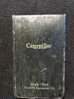 Caterpillar Tractor Vintage 1930's Dealership Memo Pad Booklet