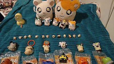 Rare Hamtaro collection  mixed lot of 27 plush and figures hamsters anime