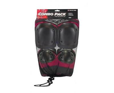 NEW 187 Adult Combo Pack Red (Knee & Elbow)