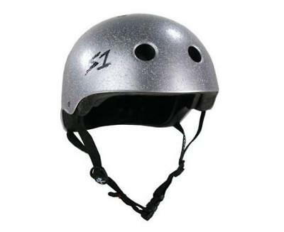 NEW S1 Lifer Helmet Silver Glitter