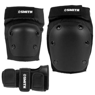 NEW Smith Scabs Tri Pack Adult (knee, elbow, wrist) Black
