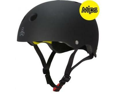 NEW Triple 8 Helmet Derby MIPS Black Matte