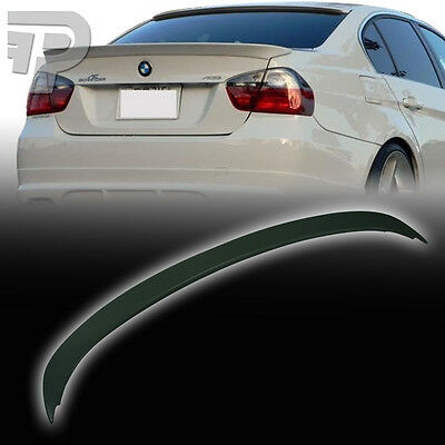UNPAINTED 3-SERIES BMW E90 Saloon A-Look BOOT Wing TRUNK SPOILER 06-11