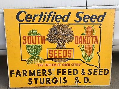 Farmers Feed & Seed Sign- Sturgis S.D.