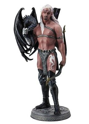 """10.25"""" Dragonsworn The Master By Ruth Thompson Home Decor Statue Sculpture"""