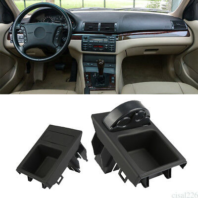 Black Centre Console Coin Box Holder Storage Tray For BMW E46 3 Series 98-05 ci6