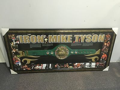Mike Tyson WBC Championship Belt Replica Hand Signed by Iron Mike Tyson with COA
