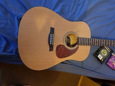 seagull s6 origanal 3 weeks old acoustic guitar