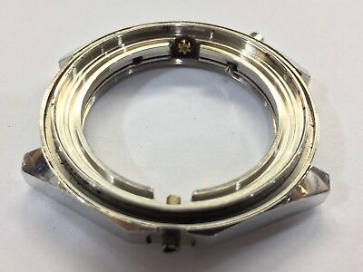 VINTAGE BREITLING CHRONMAT 1970s AUTOMATIC 1808 CASE ONLY