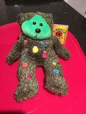 Tinsel the Christmans Tree Beanie Bear Kid
