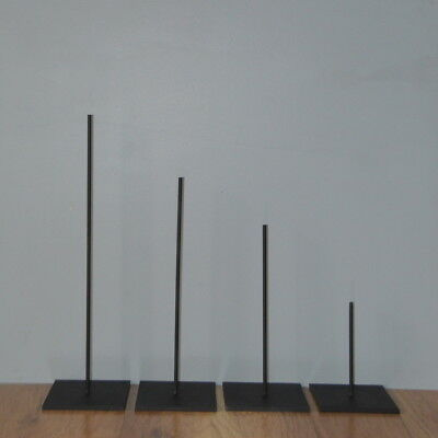 """METAL ROD STAND FOR AFRICAN,SCULPTURES & MASK -18"""" Tall"""