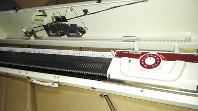 New Creative KH230 9mm Bulky Gauge Knitting Machine with Built In Intarsia
