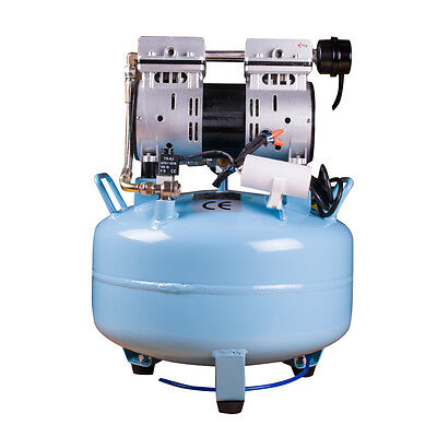 Dentist Noiseless Oil Free Oilless Air Compressor 30L 130L/min for Dental Chair