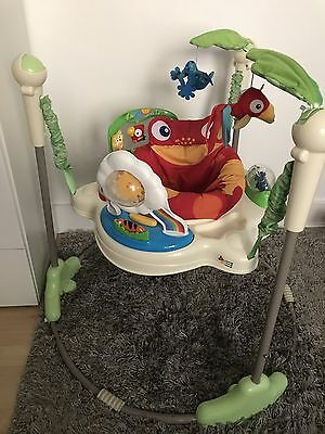 Fisher Price Rainforest Jumperoo (Excellent condition - Fully working)