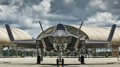 "010 F-35 - Lightning II Joint Strike Fighter 42""x24"" Poster"