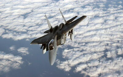 """010 F-15 - American Eagle Fighter 38""""x24"""" Poster"""