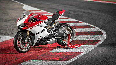 "038 Ducati - Monster Multistrada Panigale Super Motorcycle 42""x24"" Poster"