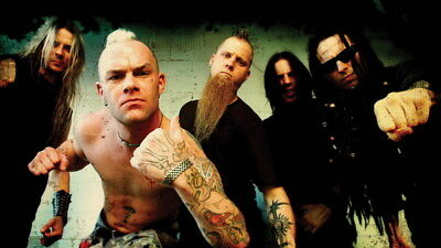 "014 FIVE FINGER DEATH PUNCH - Ivan Moody Metal Rock Band 42""x24"" Poster"