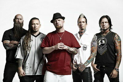 "013 FIVE FINGER DEATH PUNCH - Ivan Moody Metal Rock Band 36""x24"" Poster"
