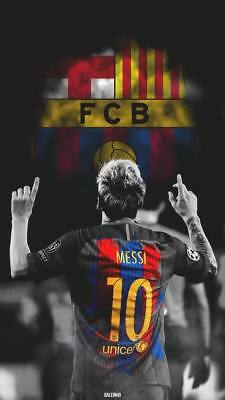 """TY07598 Lionel Messi - FCB Football Star Soccer 14""""x24"""" Poster"""