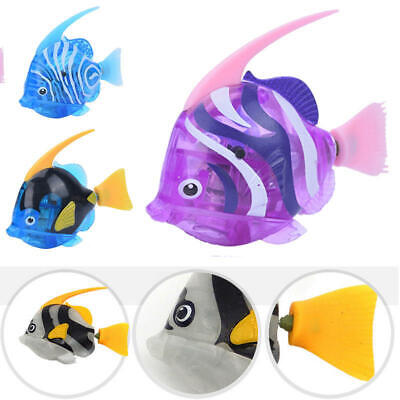 Electronic Fish Robofish Activated Battery Powered Robo Toy Children Pet Robotic
