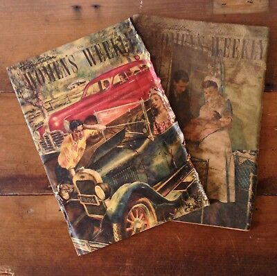 Set of 2 Vintage The Australian Womens Weekly Magazines 1948