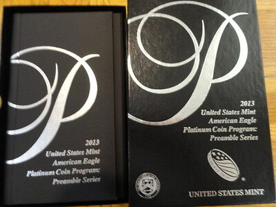 2013-W 1 oz Proof Platinum American Eagle Coin - with Box and Certificate